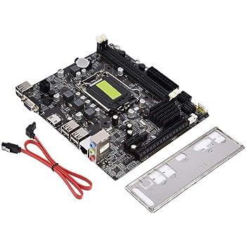 LGA 1155マザーボード 4 USB2.0 DDR3 Bモデル H61コンピュータマザーボード ソリッドステートマザーボード VGA + HDMIデュアル出力 メインボード