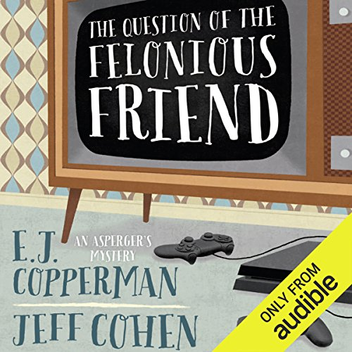 The Question of the Felonious Friend                   De :                                                                                                                                 E. J. Copperman,                                                                                        Jeff Cohen                               Lu par :                                                                                                                                 Mark Boyett                      Durée : 8 h et 20 min     Pas de notations     Global 0,0