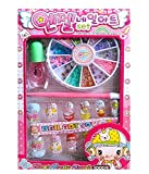 ASU Nail Art Set for Girls (Multicolour)
