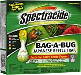 Spectracide HG-56901 Bag-A-Bug Japanese Beetle Trap2 (56901), 1 Count