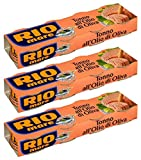 Rio Mare: Tuna Fish Cans in Olive Oil, Yellowfin Tuna Quality * 2.82 Ounce (80gr) Packages (Pack of 12) * [ Italian Import ]