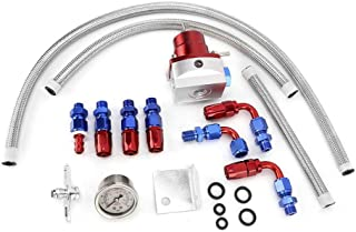 FPR Manometro del regolatore di pressione del carburante Kit rotaia del carburante per Honda Civic Serie D Crx