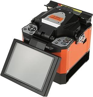 Empalmadora por fusión 100V-240V 50 / 60Hz, Máquina de empalme de soldadura de fibra óptica, Fibra óptica aplicable: SM/MM/DS/NZDS, etc, con múltiples modos de operación