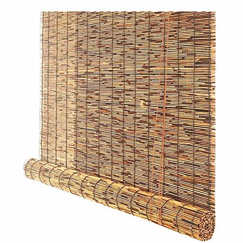 Las persianas enrollables de bambú se pueden utilizar para protección solar, protección contra el polvo, protección UV, etc. Para jardines, pérgolas, paredes traseras, contraventanas personalizables