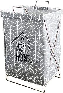 Sac à linge HXF - Panier de rangement pliable pour vêtements sales - Panier de rangement pour salle de bain - Durable, Toi...