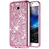 Ukayfe Paillette Coque en Silicone Etui de Protection Brillante Glitter Housse Souple...