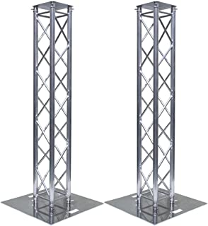 Global Truss Light Weight Dual 6.56 Foot Stage Lighting Truss Totem System