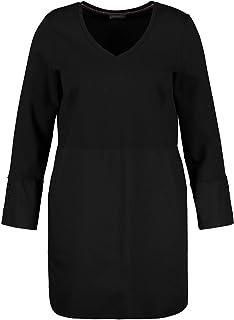 Samoon 371030-26434 Robe, Noir (Black 1100), 50 (Taille Fabricant: 48) Femme