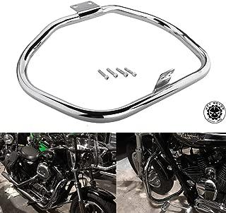 HK Motorcycle Chrome Front Crash Saftey Bars Protection Engine Guard Highway For 2005 2006 2007 2008 2009 2010 2011 2012 2013 2014 2015 Harley Davidson Iron 883 XL883N XL1200L 48 Sportster