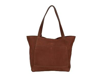 Lucky Brand Don Tote (Brandy) Handbags