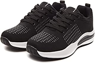 AUCDK Women Sneakers Breathable Athletic Trainers Lightweight Running Shoes Summer Anti Slip Low Top Sport Shoes