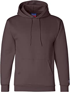 Men's Front Pocket Pullover Hoodie Sweatshirt, Medium, Maroon