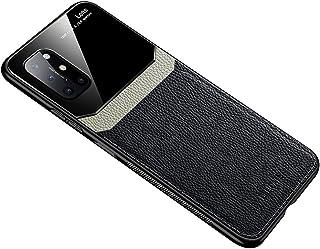 حافظة هاتف من الجلد الناعم لهواتف وان بلس 8T - اسود