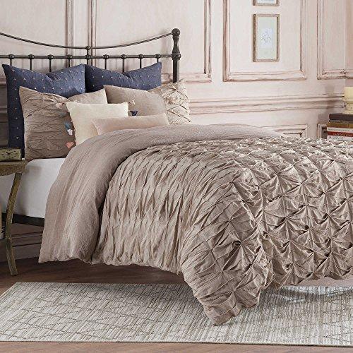 Antología doble tamaño de cama de la colección de cama de Kendall en un color marrón color