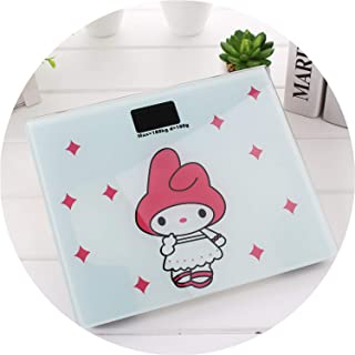 Electronic Weighing Scales LED Digital Display Weight Weighing Floor Electronic Smart Balance Body Household Bathrooms 180KG,First Daughter