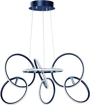 Amazon.com: Luz LED colgante moderna de acrílico ...