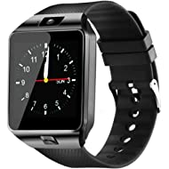 YIIXIIYN Smart Watch DZ09 Touchscreen Bluetooth Smartwatch Phone Sports Fitness Tracker with SIM...