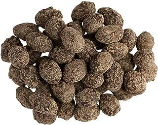 SunRidge Farms Sea Salt and Turbinado Sugar Dark Chocolate Almonds NonGMO Verified 10 lb Bulk