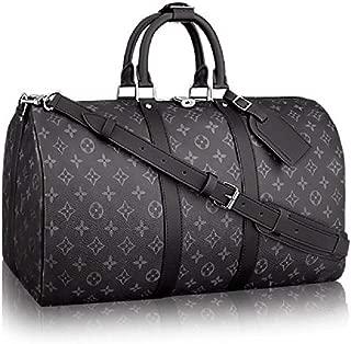 Keepall Bandouliere Style Monogram 55 cm Canvas Crossbody Handle Bag