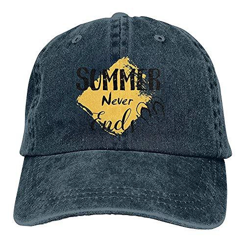 Egoa verrekijker hoed unisex zomervakantie-strand-zonnen-denim chic-afstandbediening hoed afstelbare wijnoogst-baseballmuts