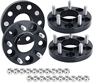 "KSP 5x4.5 Wheel Spacers for Compass Patriot 2007-2015,20mm(3/4"") Forged Hubcentric Spacer Thread Pitch 12mmx1.5 Hub bore 67.1mm fit Escape 2001-2012,Fusion 2005-2012 so on"