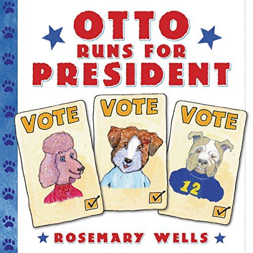 Otto Runs for President audiobook cover art