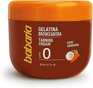 Babaria Gelatina Bronceador Solar Coco y Zanahoria SPF0-200 ml