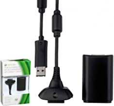 Kit com Bateria e Carregador para Xbox360 KP-5123 Knup