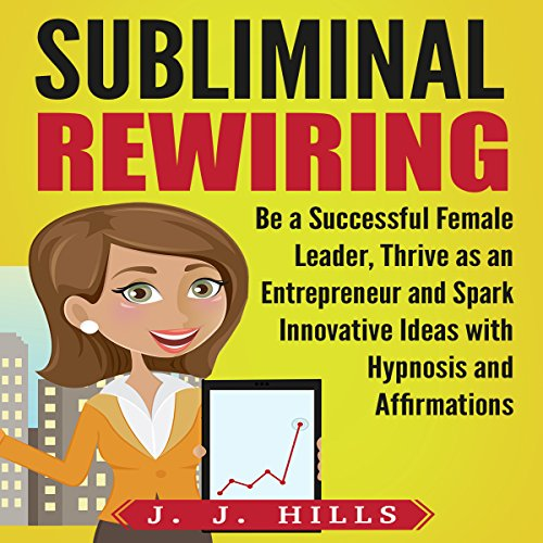 Subliminal Rewiring: Be a Successful Female Leader, Thrive as an Entrepreneur and Spark Innovative Ideas with Hypnosis and Affirmations audiobook cover art