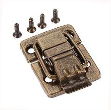 1 Stuks Antiek Brons Sieraden In Hout Box Lock, Ladeslot Decoratieve Box Lock, Meubelen Hardware 30 × 36 Mm / 1,18 X 1.42in