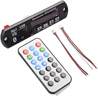 ICQUANZX DC 12V Bluetooth Decodificador de MP3 MP3 Módulo de Audio USB 3.5 MM AUX TF FM Radio FLAC + WAV + WMA + MP3 (vers...