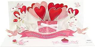 UP WITH PAPER ポップアップ バレンタインカード VALENTINE BIRDS A101