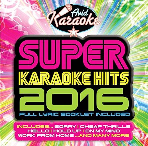 Super Karaoke Hits 2016 (Audio CD only - NOT CD+G)
