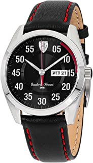 Ferrari Men's 0830173 D 50 Analog Display Quartz Black Watch
