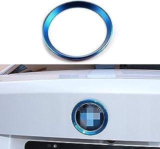 Xotic Tech 1 x 3D Aluminum Metal Dashboard Clock Decor Trim Ring for Lexus is GS ES RX is NX RX Blue Xotic Tech Direct