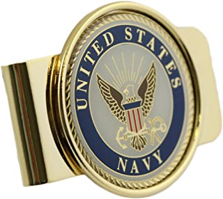 US Navy Logo Money Clip Military Money Clip