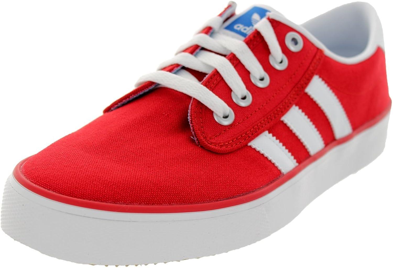Adidas Originals Unisex Kiel 72 College Red Running White blueebird Men's 9, Women's 10 Medium