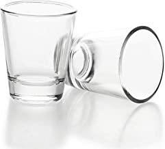 1.5 oz Shot Glasses Sets with Heavy Base, Clear Shot Glass (2 Pack)