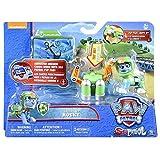 Spin Master Paw Patrol Sea Patrol Deluxe Figure Rocky Multicolor Niño/niña - Figuras de Juguete para niños (Multicolor, Niño/niña, Dibujos Animados, Animales, Patrulla Canina, Perro)