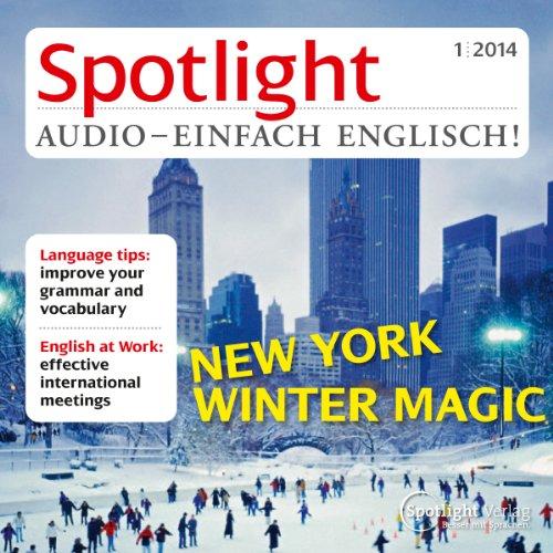 Spotlight Audio - New York winter magic. 1/2014 Titelbild