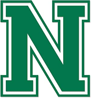 Applicable Pun Varsity Letter N - Vinyl Decal Outdoor Use on Cars, ATV, Boats, Windows More - Green 5 inches Tall