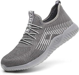 Anti-Slip Wear-Resistant Steel Toe Cap Veiligheidsschoenen Heren Dames Anti-Punctuur Sport Lichtgewicht Ademende Industrië...