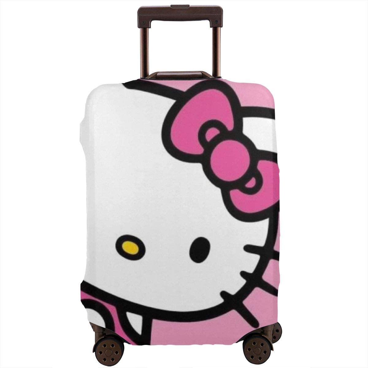 Travel Luggage Miami Mall Cover Max 75% OFF Hello Kitty Washable Suitcase Bag Protector