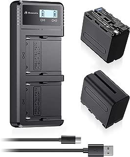 cargador para Sony hdr-fx1 hdr-fx7 hdv-z1 Bateria 10400mah