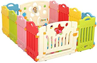 Baby Play Fence  Plastic Children s Fence  Baby Safety Guardrail Baby Tasteless Toddler Crawling Safety Fence
