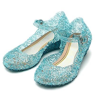 Katara Zapatos de Princesa Elsa - Niñas