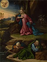 The Polyster Canvas Of Oil Painting 'Garofalo The Agony In The Garden ' ,size: 24 X 32 Inch / 61 X 81 Cm ,this Vivid Art Decorative Canvas Prints Is Fit For Gift For Bf And Gf And Home Decoration And Gifts