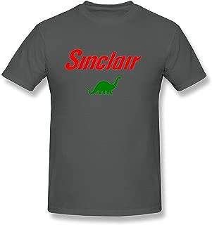Yamoon Men's DeepHeather Sinclair Oil Logo T Shirt