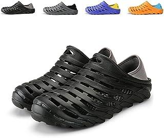KIFBO Zuecos ligeros de EVA para hombre, sandalias de playa, zapatos de malla de aire para hombre