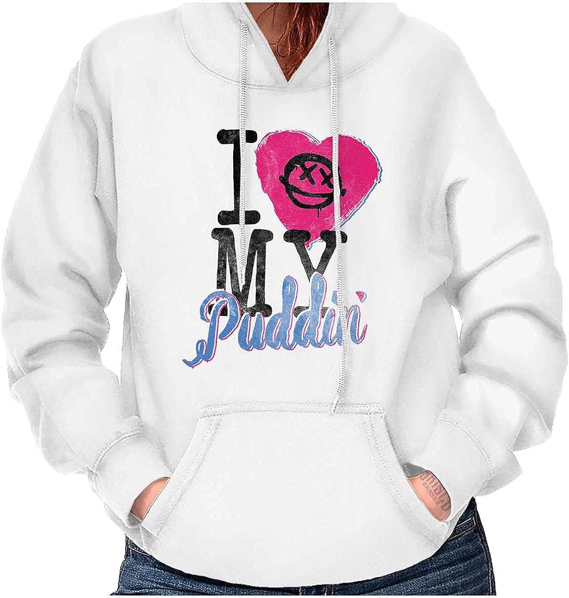 Love My Puddin Harlequin Villain Hoodie Sweatshirt Women